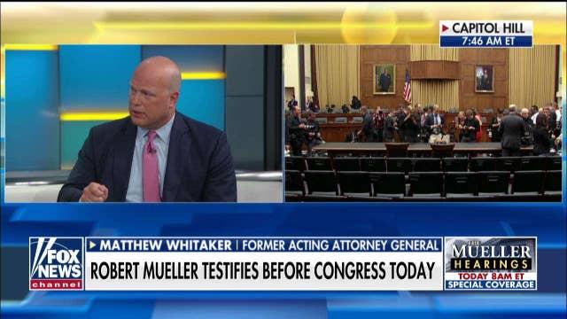 Matthew Whitaker on the question he would ask Robert Mueller