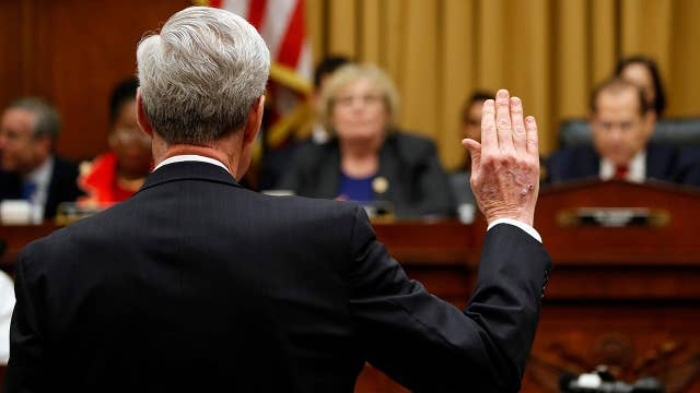 Mueller: The report is my testimony and I will stay in that text