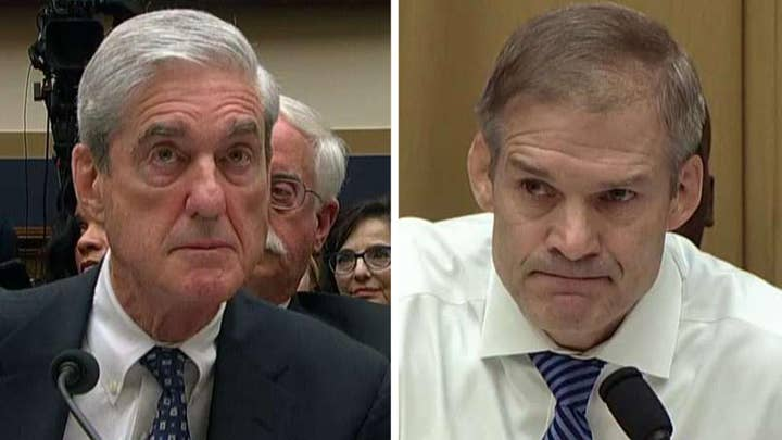 Rep. Jim Jordan to Mueller: Maybe a better course of action is to figure out how the false accusations started