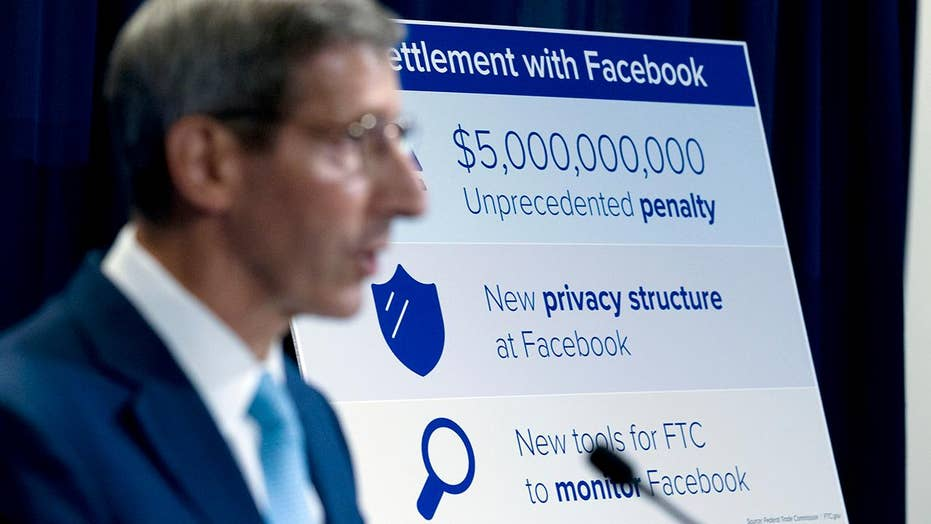 Facebook pays $5 billion fine for misusing users' data