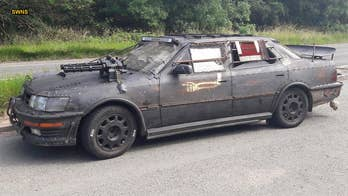 Armed police surround gun-equipped car owned by 'Mad Max' fan