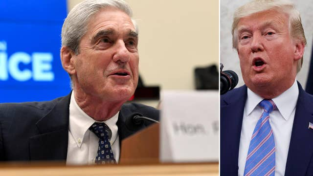Trump: The witch hunt is over