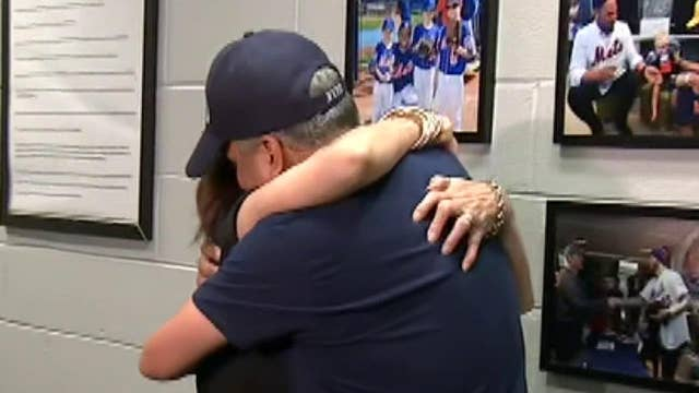 NYPD Detective meets the woman he donated a kidney to