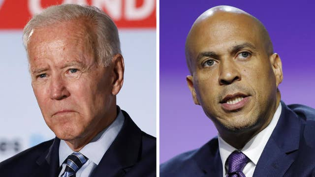 Biden attacks Booker, says he won't be as 'polite' to Kamala Harris ahead of next Democrat debate
