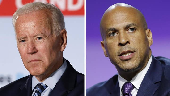 Biden attacks Booker, says he won't be as 'polite' to Kamala Harris ahead of next Democrat debate