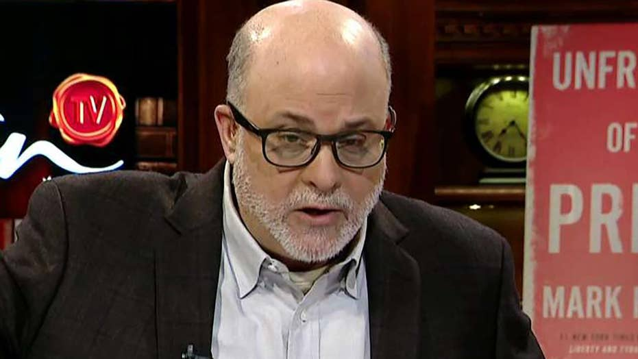 The Russia probe is the greatest political scandal in American history and it's still going on: Mark Levin
