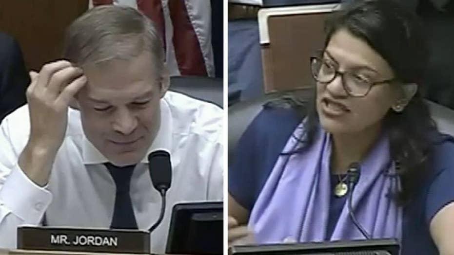 Reps. Tlaib, Jordan clash over subpoena for Ivanka Trump's private emails