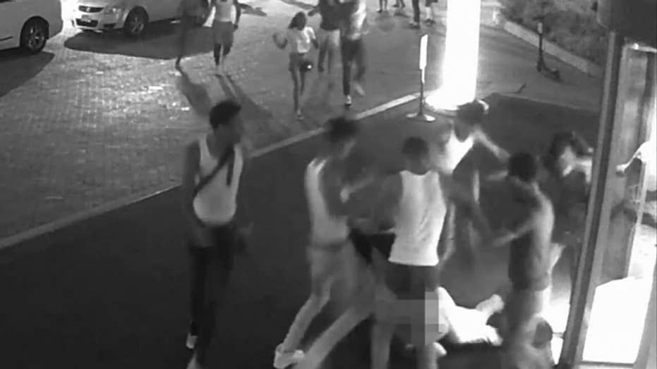 Raw video: Security camera in DC catches aggravated assault
