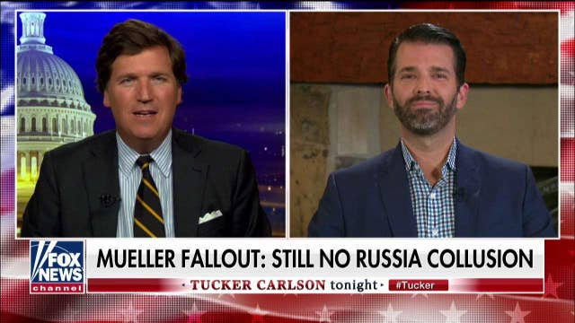 Donald Trump Jr. reacts to Mueller hearings