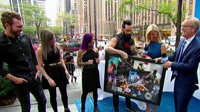 Skillet surprised with platinum song honor on the All-American Summer Concert Series
