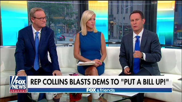 'Fox & Friends' roasts Congress for going home without fixing border crisis: 'They could act!'