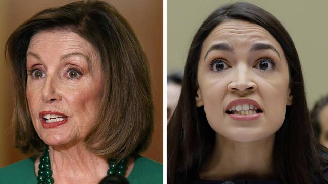 Speaker Pelosi, Rep. Ocasio-Cortez wrap up meeting amid growing tension between leadership and 'the Squad'
