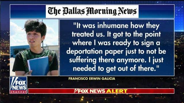Mark Morgan on allegations Dallas-born citizen was held by Border Patrol in 'inhumane' conditions