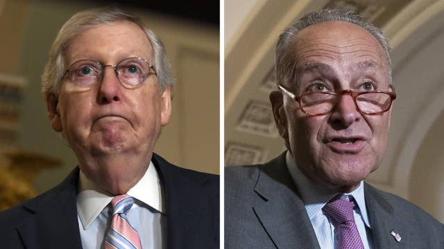 Senate Majority Leader Mitch McConnell blocks 'partisan' election security bills
