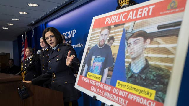 Canadian police say teen killing spree suspects are believed to be on foot in wilderness