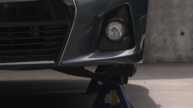 Insult to injury: San Francisco couple gets parking ticket after car's wheels were stolen