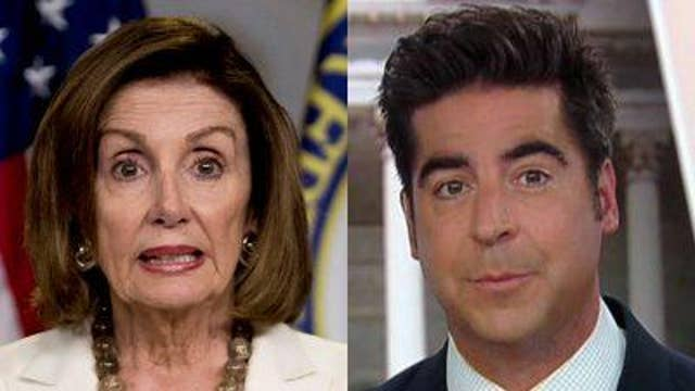 Jesse Watters reacts to Pelosi-AOC meeting