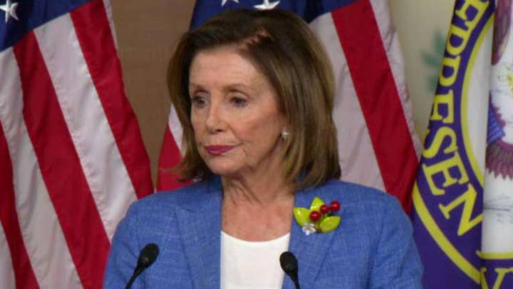 Pelosi denies trying to run out the clock on impeachment, says decision will be made in a 'timely fashion'