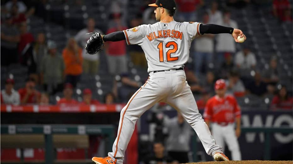 Position player earns save for first time in MLB history in Orioles' wild victory