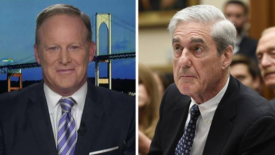 Sean Spicer on the Mueller testimony: This was supposed to be the visual manifestation of the report