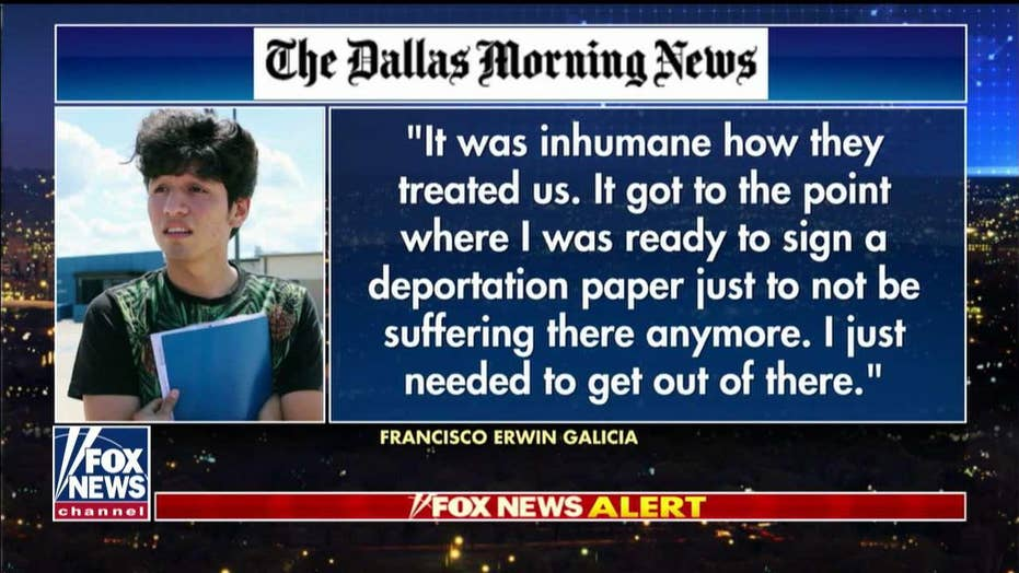 Mark Morgan on allegations Dallas-born citizen was held by Border Patrol in 'inhumane' conditions