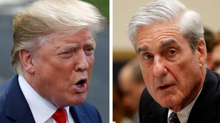 Trump rips Mueller after hearing