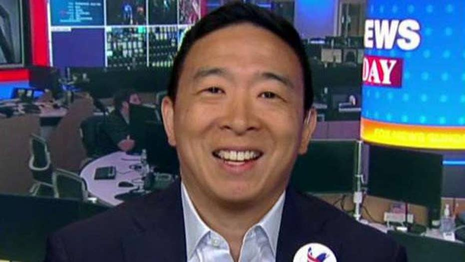 Andrew Yang previews second round of Democratic presidential debates