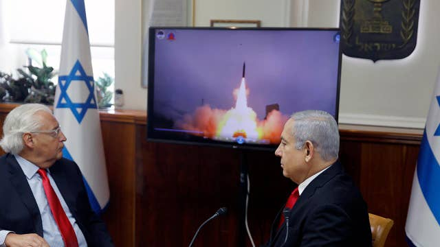 Israel shows off US-backed missile in an apparent warning to Iran