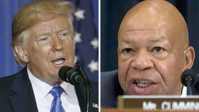 Democrats slam president over criticism of Baltimore