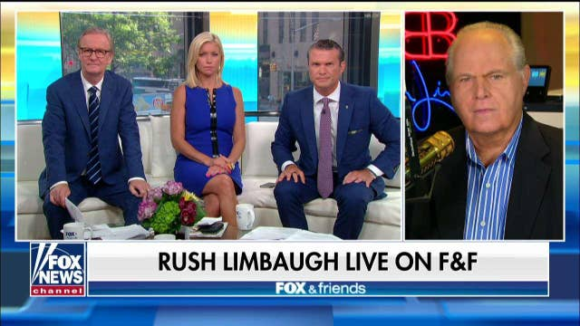 Rush Limbaugh on Baltimore: Trump speaking 'absolute truth' that's not supposed to be said about Dem-run cities