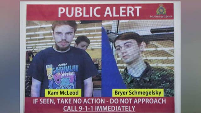 Canadian murder suspects spotted for the first time in a week in Manitoba