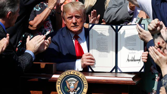 Trump pays tribute to 9/11 first responders, signs permanent funding extension