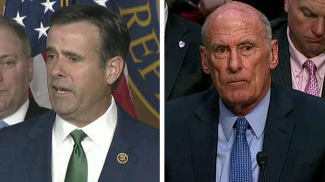 President Trump nominates Rep. John Ratcliffe to replace Dan Coats as director of national intelligence