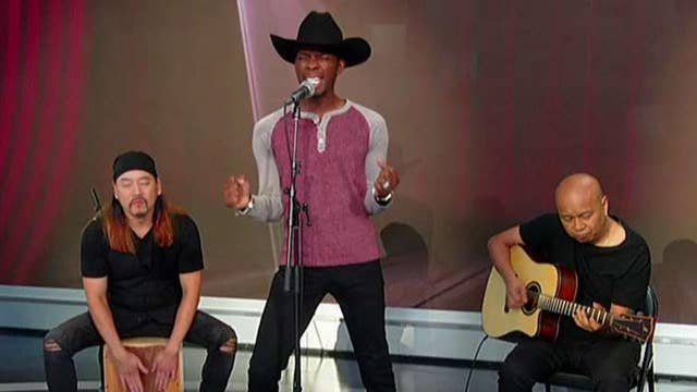 KP Fitz performs 'Drivin' Me Crazy' on 'Fox & Friends'