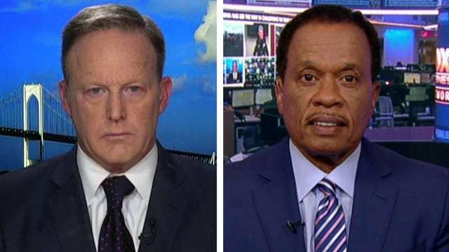 Juan Williams and Sean Spicer debate President Trump's Twitter feud with Rep. Elijah Cummings