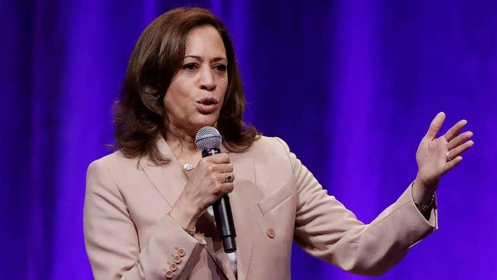 Democratic presidential candidate Sen. Kamala Harris unveils health care plan ahead of second debate