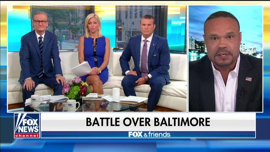 Dan Bongino says Trump must not relent in battle over Baltimore