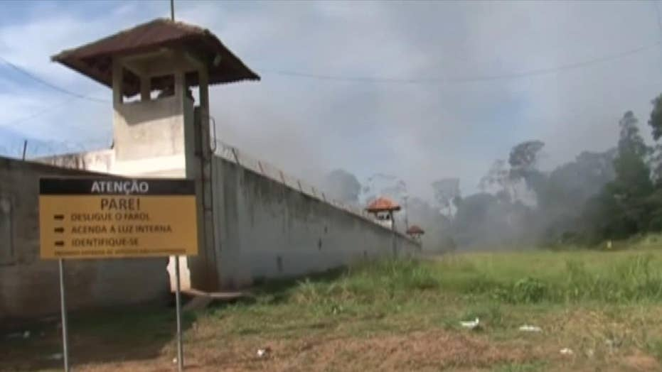 Riot between rival gangs leaves over fifty dead in a Brazilian prison