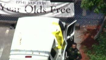 Toddler dies in van outside Florida daycare