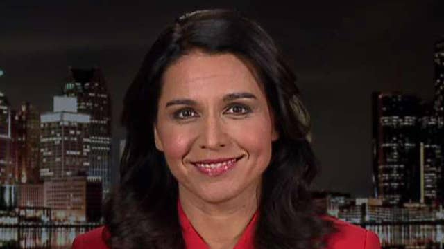 Democratic presidential candidate Tulsi Gabbard explains why she is suing Google