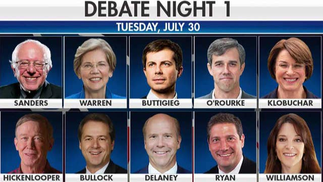Will party divisions be exposed at Round 2 of the Democratic presidential debates?