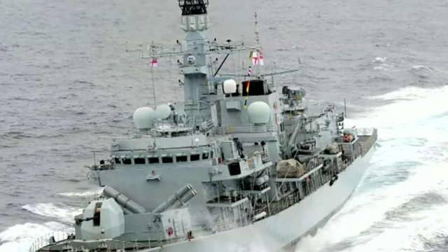 Iran releases video showing confrontation with British warship
