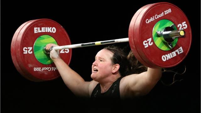 Transgender weightlifter's gold medal sparks new debate
