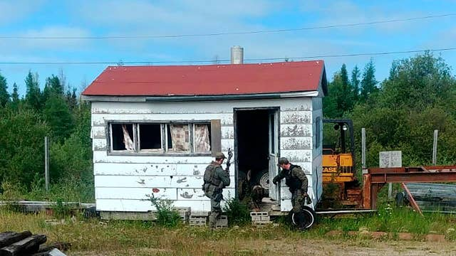 Canadian manhunt for teen murder suspects returns to Gillam after latest tip fails to pan out
