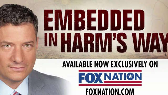 Fox News reporter, cameraman reflect on time embedded with troops in Iraq in new Fox Nation special