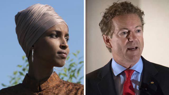 Ilhan Omar hits back at Rand Paul with retweet mocking assault on senator
