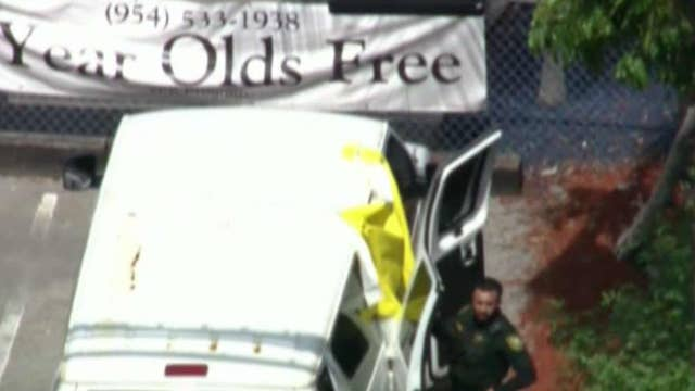Toddler dies in van outside Florida daycare