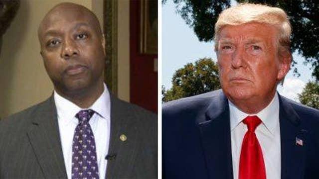Sen. Tim Scott talks Trump's feud with Cummings, conservative policies' effect on metro areas