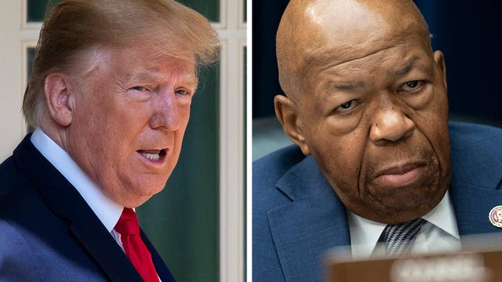 Is President Trump's feud with Rep. Elijah Cummings part of a larger strategy?