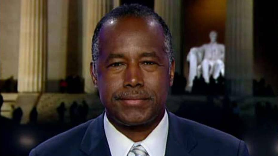 Ben Carson says President Trump would be happy to work with Elijah Cummings to bring relief to Baltimore